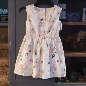 NWT Floral Sundress from CARTER'S Size 4/5